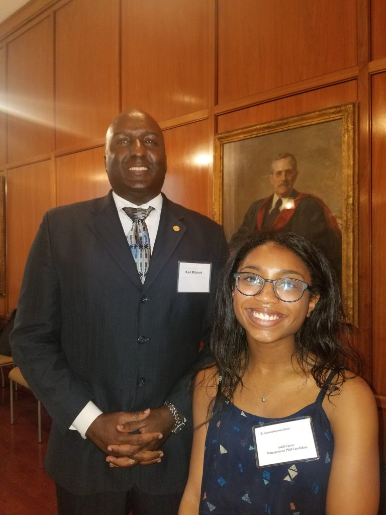 Afrika's Struggle Visits Columbia Business School (PhD in Business